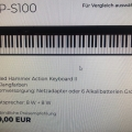 Casio Digitalpiano CDP-S 100